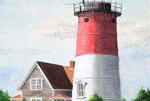 Watercolor Lighthouses / by Sammie Justesen
