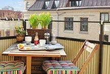 Gardens, balconies and terraces / ideas to arrange those spaces / by Pawel Dolatowski
