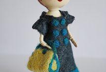 Clothespin doll / by Joleen Bennett