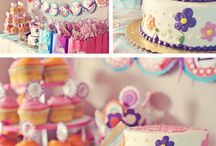 { party decor // girl birthday }  / by Emily Arkle
