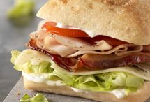 Sandwiches, hoagies, subs, and wraps / by Robin Sue Slusher