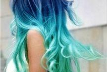 Cheveux colorés! / by Isabelle Naud