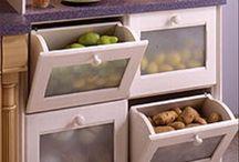 Kitchen&organizer / by Rajeshwari Annamalai