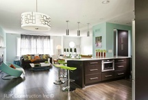 Kitchen Modern Designs / by RJK Construction, Inc