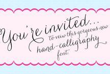 typography / by Karla Krueger Marks