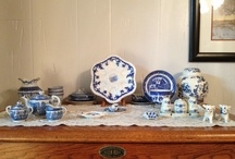 My Love Affair with Blue & White / My love affair with blue & white / by HOG Healthy Organic Green