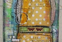 Collage mixed media etc. / by Cheryl Brown