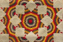 Antique Vintage Quilts, Stars / by Donna K. from N. TX