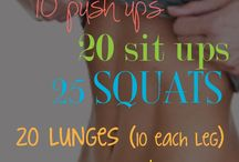 Work out Board / by Jessica Larsen