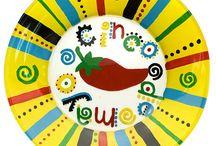 Crafty Fiesta - Cinco de Mayo Crafts & Recipes / Cinco de Mayo Crafts, Fiesta Craft Ideas, Mexican Craft Ideas, Taco Crafts, Pinatas, Maracas #craftyfiesta / by Simone Collins