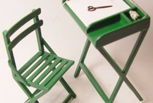 miniature furnishings/accesories / by Kathleen De Simone