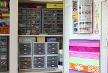 Craft Room, Storage and Organization / by Pamela Silberberg
