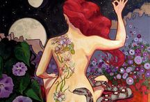 La luna en mi / by Ale Monti