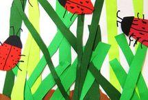 lieveheersbeestjes / by Corina Martens
