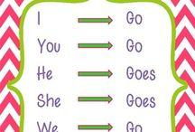 Teaching Subject Verb Agreement / by Skylar-Ashton Palmer