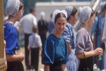 Amish/Mennonite - Simple Life / I Have Always Been  Intrigued by the  Amish-Mennonite.  Visiting Their Communities in Indiana and Pennsylvania.  Their Lives are Simple.  Yet Rich in Family Life.  / by Amy