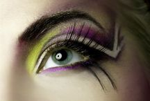 Beautiful color art eyes / by Cybill Summer