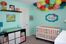 For the home: Nursery Ideas / by Brandy Mower