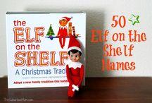 Elf on shelf / by Betty Burke