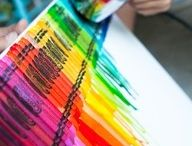 Crayon Crafts / by Tracey Sawtelle