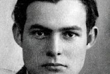 Ernest Hemingway / Regarding the author Ernest Hemingway / by Joe Hilley