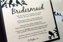 Wedding - Bridesmaids / by Allison Kline