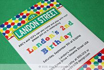 Sesame Street Party / by Cathy C - 505 Design, Inc