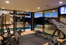 Luxury Home Gyms / These would actually be worth working out in. / by Catherine Tuckey