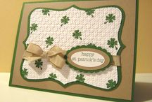 St Patrick's Day card ideas / by Sarah Vait