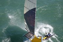 Sailing / Various images of the boat I sail on and of many primarily Melbourne Australia yacht races. Great place to race with normally very active weather systems. / by Cameron Reed