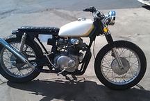 MOTORCYCLES / Don't own a motorcycle; Want one. These I like. / by Vapor Maché