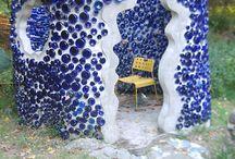 Glass Bottle Walls / by Lisa Semler