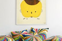 HOME : Nursery/Children's Room / Ideas for a nursery or child's room. / by Tiffany Wildermuth