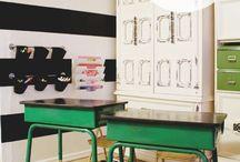 Homeschool room/organization / by Becky Roha