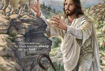 Religious art - good shepherd / by Anne Delsorte