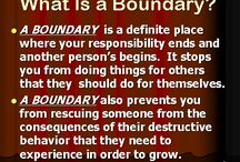conference on boundaries / by Jenna F.ox