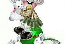 creddy bears / by corinne golby