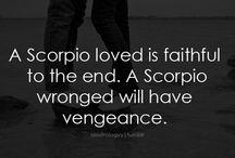 Scorpio / by Sharon Denise