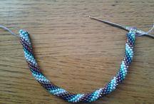 sznury na szydełku - crochet rope / by Annie Marzycielka