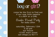 Baby Reveal / by Sarah Michelle T