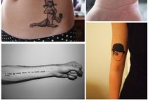 Tattoos / by Kate Monskey