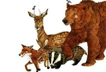 Illustration // Woodland Friends / by Wendy