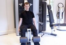Our newly refurbished gym / Our newly extended gym offers state of the art TechnoGym equipment. The space overlooks our stunning secluded gardens, allowing you to truly escape and concentrate on some 'me time'. / by The Royal Crescent Hotel & Spa