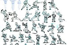 Kung fu/Martial Arts Styles / by Crystal Swann