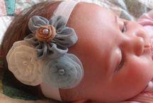 headbands, hair bow and hair clips / by Dada Raposa
