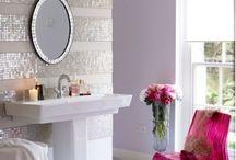 basement 3/4 bath decorating ideas / by holly lock