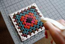 Granny Square,Round,Triangle Crochet / by sharmaine debba