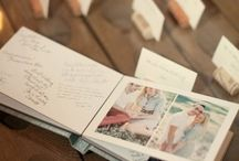 Wedding favors and guestbooks / by Arielle Bourgoin