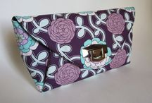 Quarter Note Clutches by YOU / by Emmaline Bags & Patterns