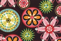 My Fab Fabric / Fabric I designed on spoonflower / by Zizi Bright